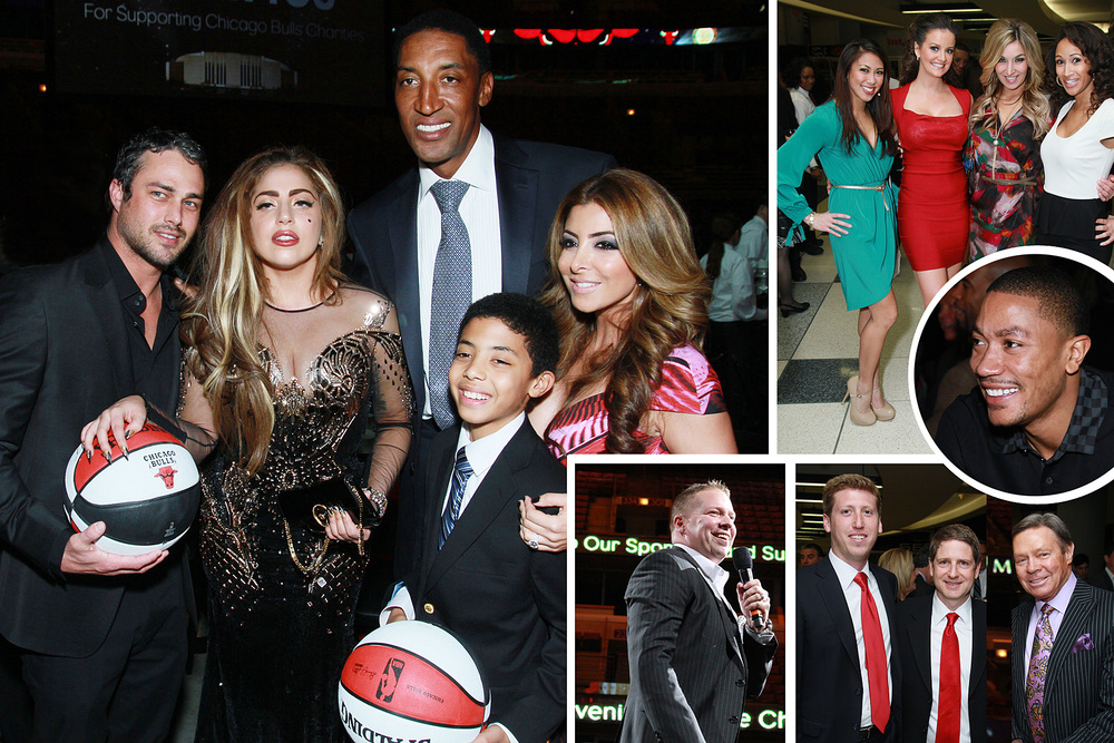 The Chicago Bulls' Charity Gala, shot for the Chicago Sun-Times SPLASH lifestyle magazine