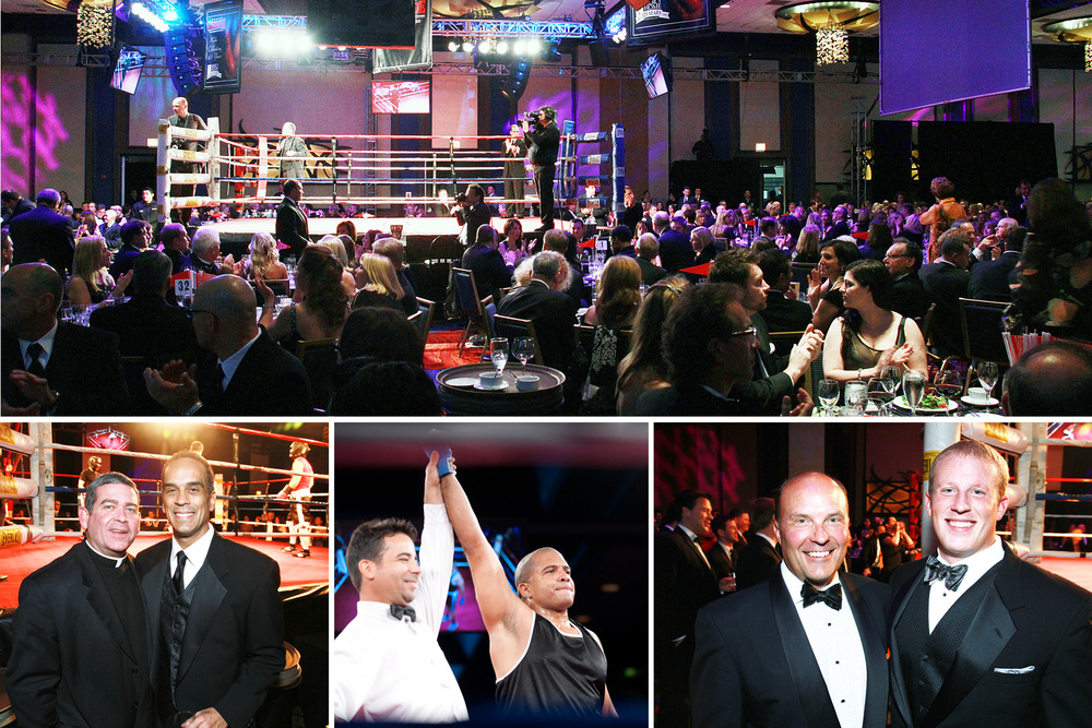 Ringside for Mercy's Sake event, shot for the Chicago Sun-Times SPLASH lifestyle magazine