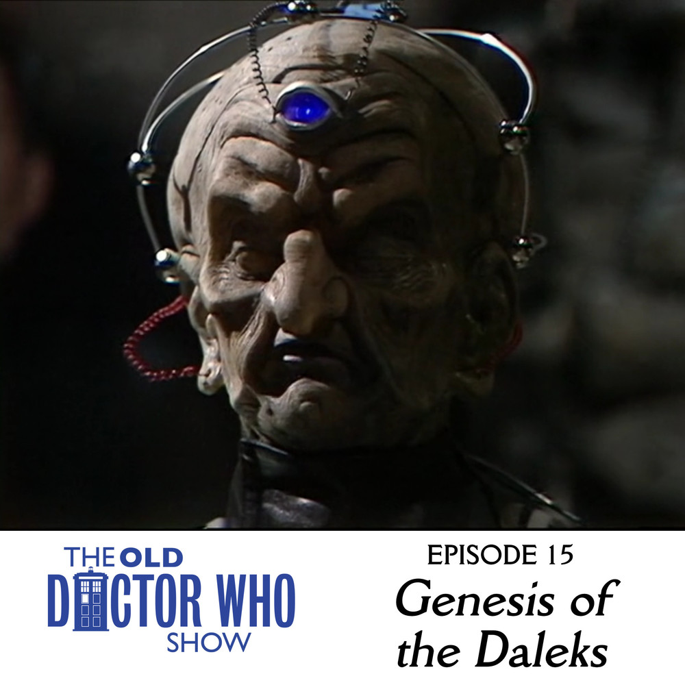 "Dan and Eric travel back in time to the war torn lands of Skaro to talk to Baby Hitler about Bioshock Infinite.  They also review the classic Doctor Who Tom Baker story, ""Genesis of the Daleks."""