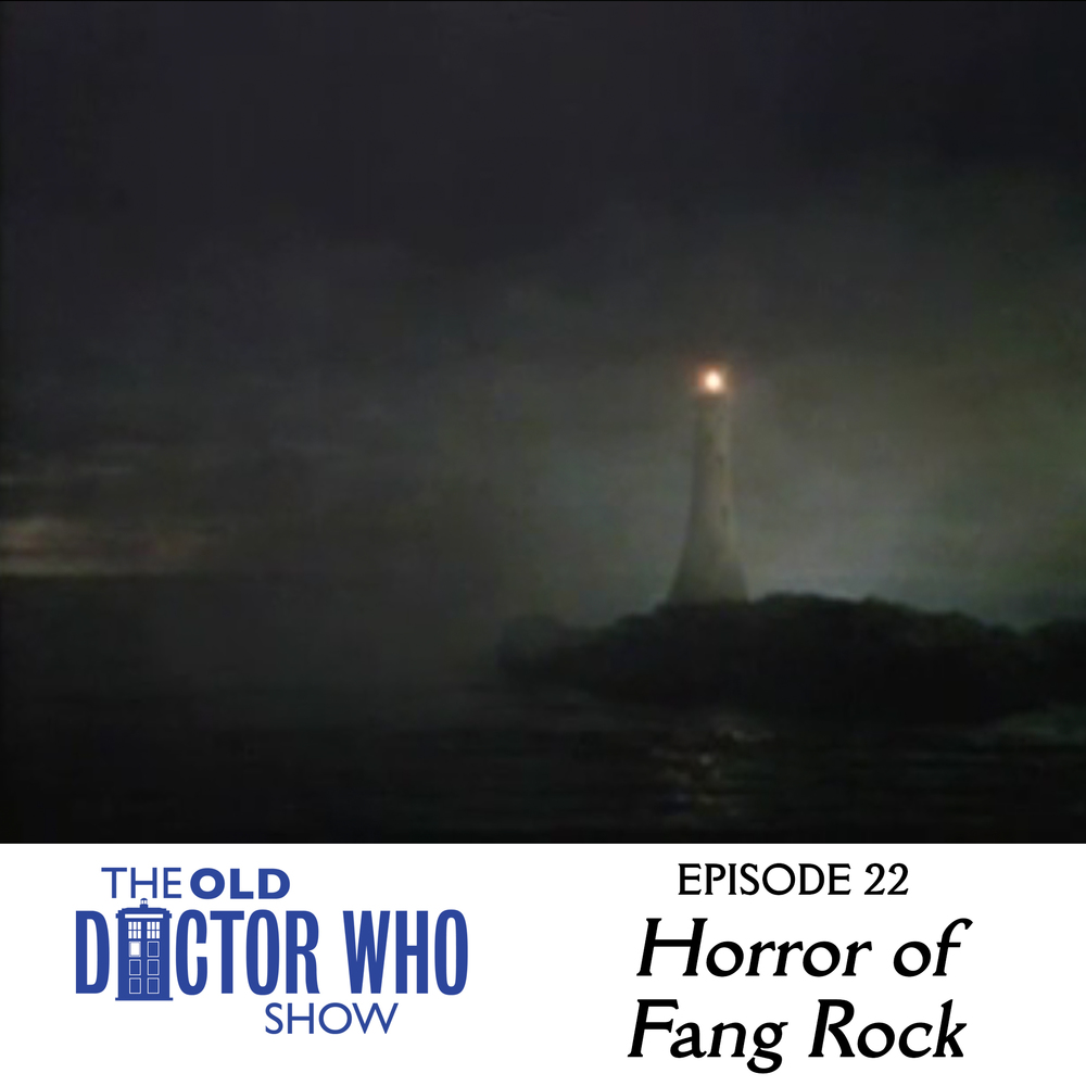 "Dan and Eric head to the lighthouse of your heart to review the classic Tom Baker Doctor Who story, ""The Horror of Fang Rock.""  All your friends will be there: the dead sneaker kids, the ghost of Glenn Frey, the green hairy balloon on the stairs..."