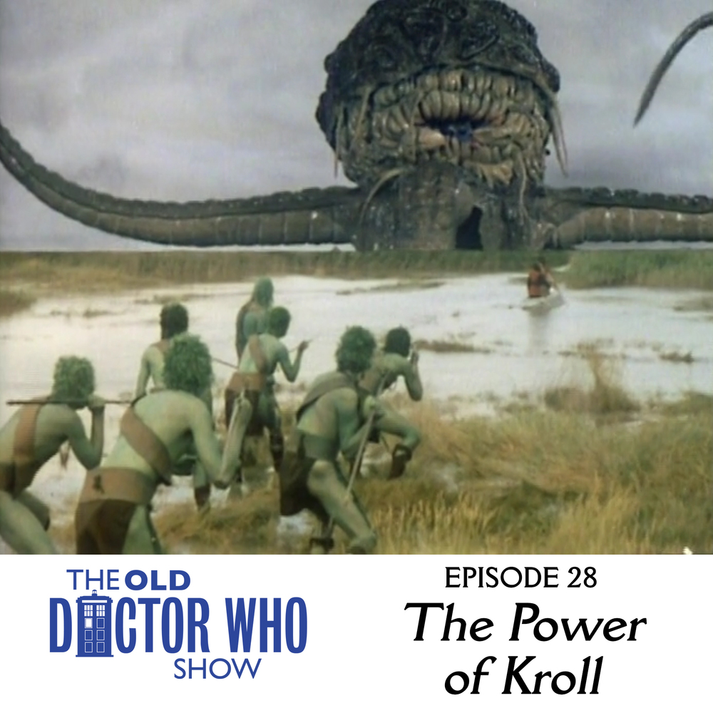 Dan and Eric throw on their leg warmers and head down to the Meadowlands to hang with the Swampies and talk the classic DOCTOR WHO story, THE POWER OF KROLL.  Join us as we break down the fifth part of the Key to Time.