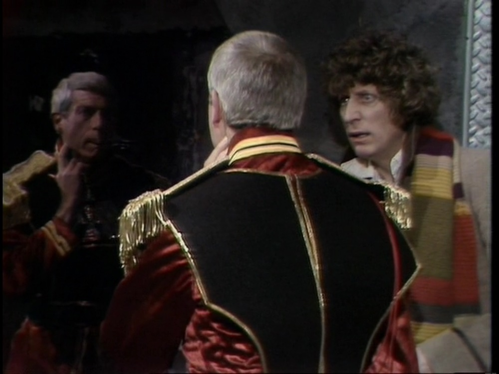 It's time to check your necks for mind control devices as Eric and Dan go in search of the final segment of the Key to Time. It's an episode full of head trips, shrink rays, and a British Peter Graves talking to skulls. Plus The Doctor and Romana invent the GIF!