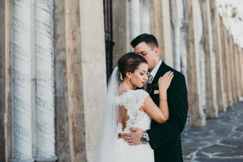 Ciana and Michael | Lakeland, FL Wedding at the St. John Neumann ...