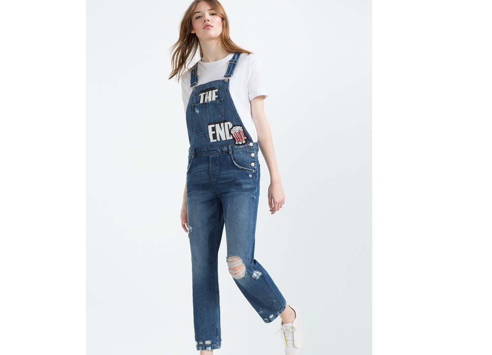 39,95€ - Peto Denim ZARA