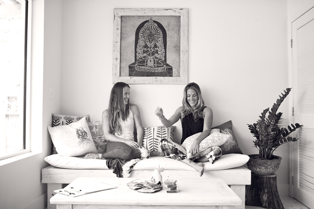 Lindsay and Laura Mensen, Retreat owners and yoga instructors