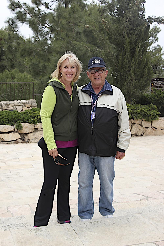 Me and Abraham...er, I mean Yehuda!