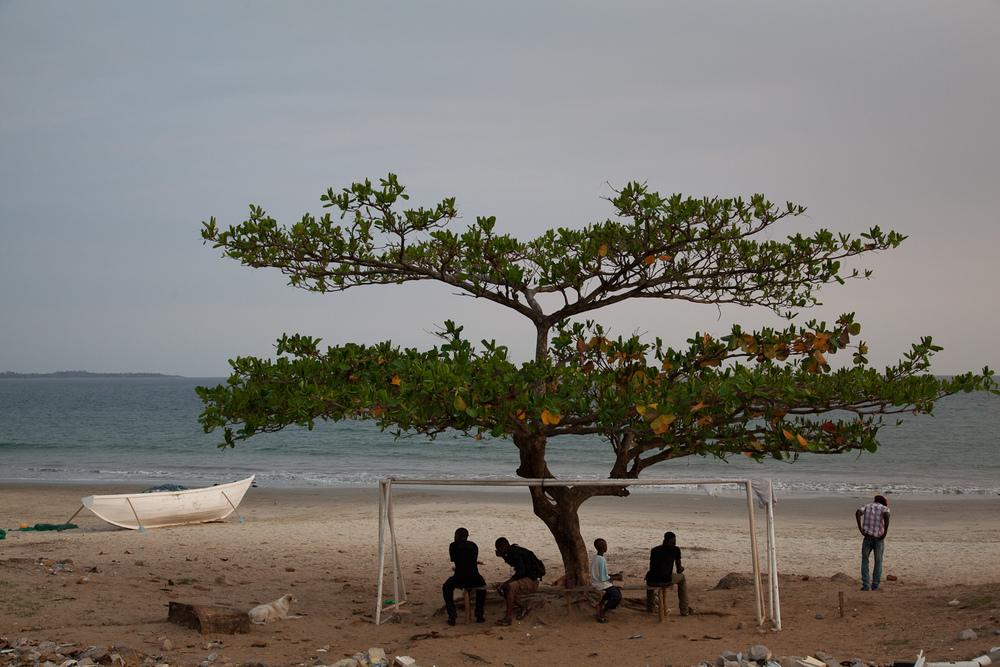 Lumley Beach, Sierra Leone