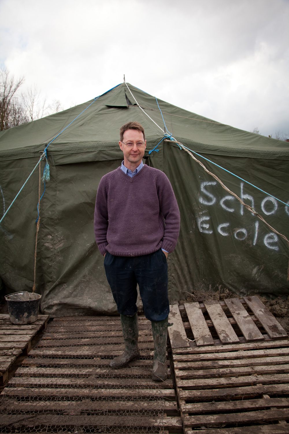 Rory Fox, Grande Synthe Refugee Camp