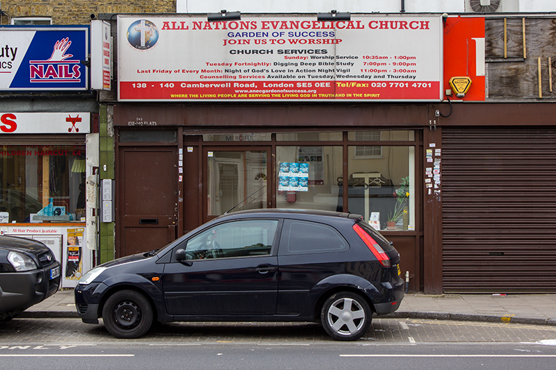 All Nations Evangelical Church, Camberwell Road