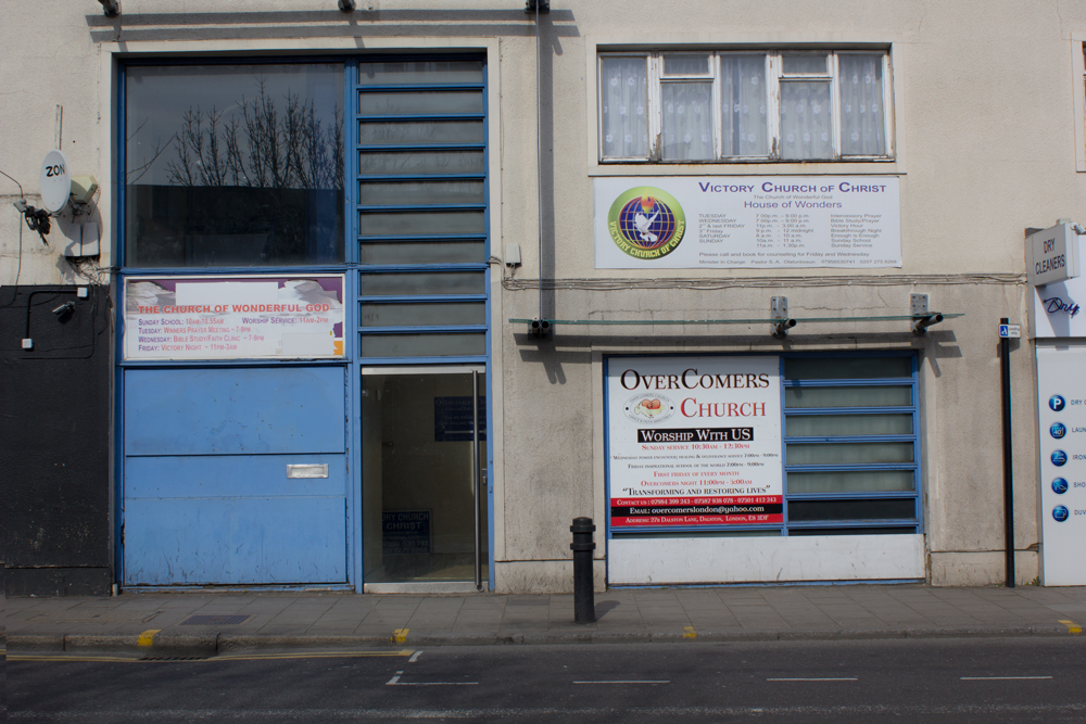OverComers Church and The Church of Wonderful God, Dalston Lane