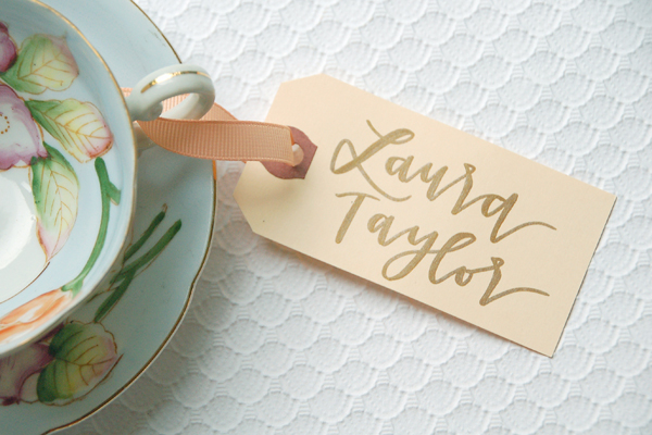 Lettered Life Place Card Wedding Calligraphy Copper.jpg