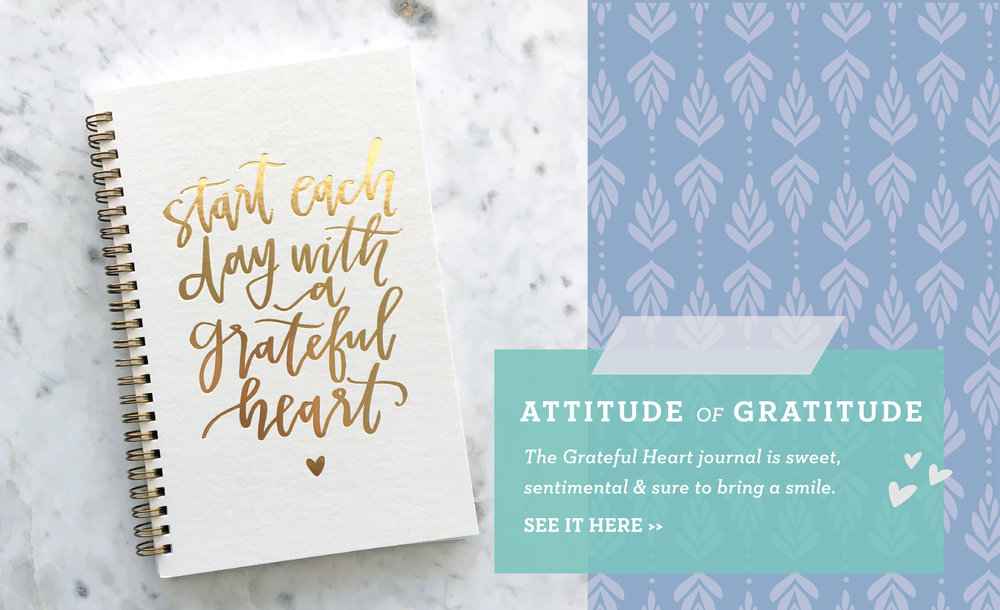 Grateful Heart Journal from Lettered Life
