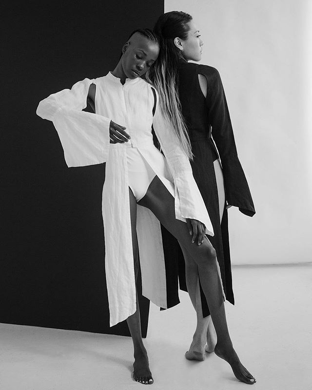 Exploring Line & Angle || full editorial coming to the site. Captured by @amandlabaraka muses: @soleitak & @mushbone  wearing @elleest_