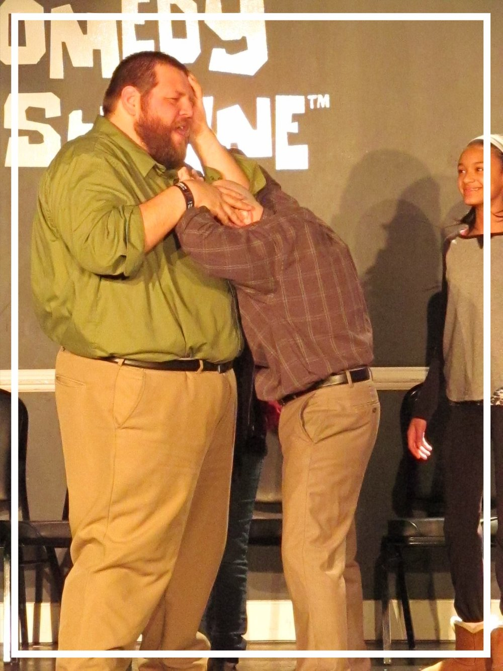 Founding members Dave Ebert and Ryan McChesney using their size difference to create comedy gold.