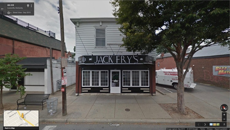 Street view of Jack Fry's