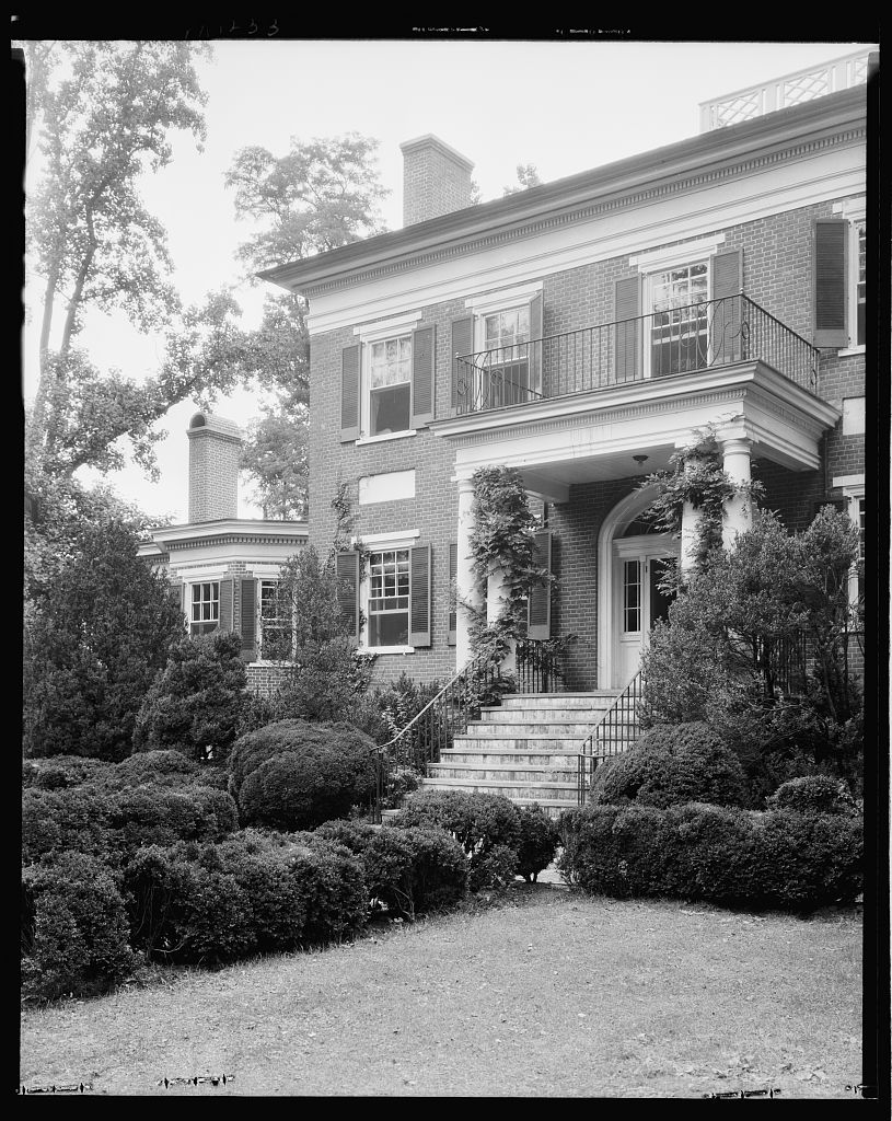 Nancy Lancaster's beloved Mirador.  Photo courtesy of the Library of Congress.
