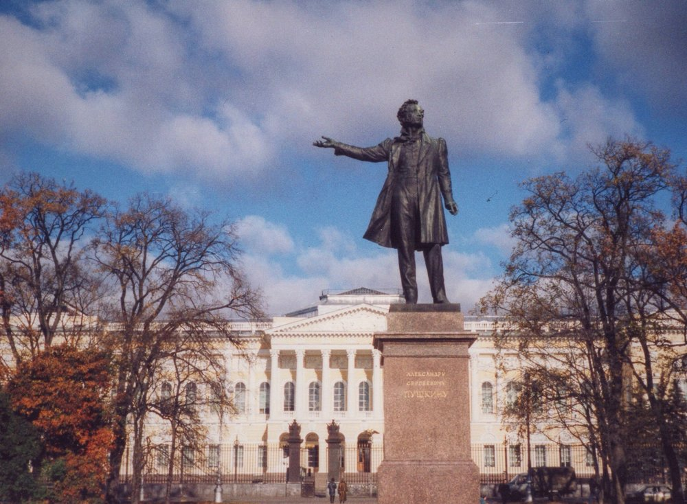 To be Russian is to love Pushkin, Russia's great poet and founder of modern Russian literature.