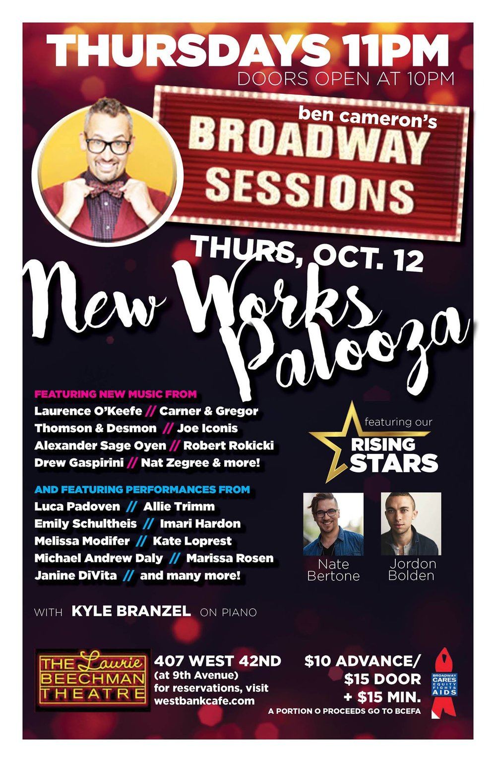 Broadway Sessions _ New Works Palooza