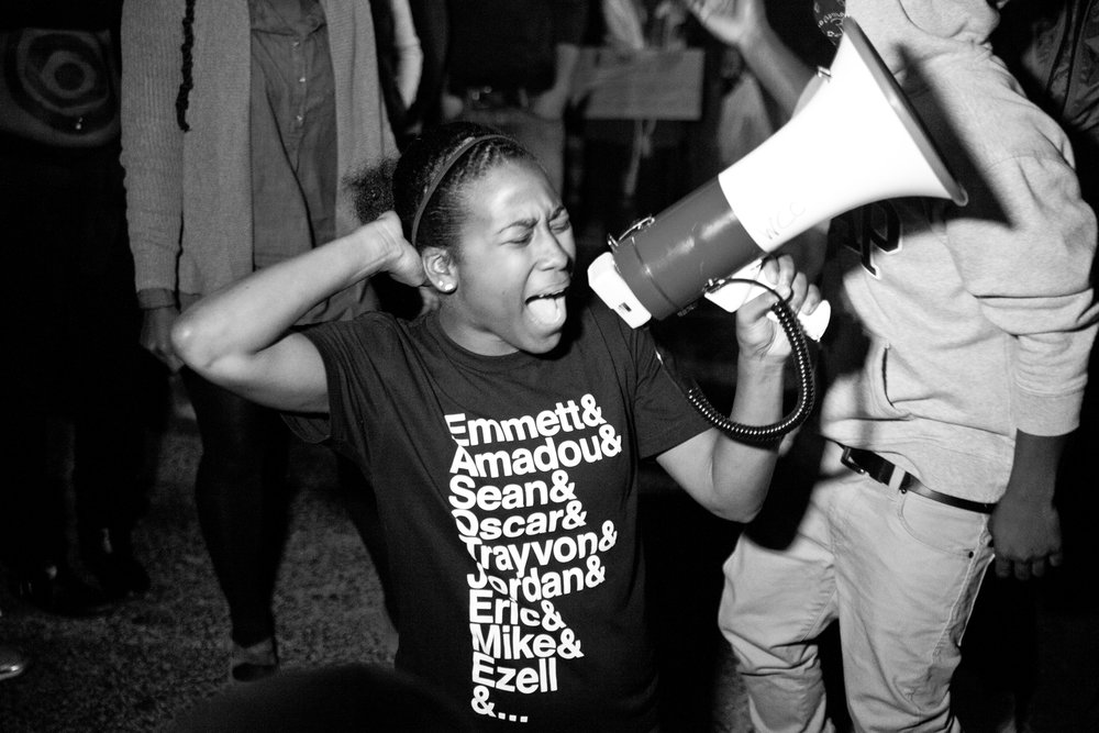 Activist Alexis Templeton in WHOSE STREETS?, a Magnolia Pictures release. Photo courtesy of Magnolia Pictures.