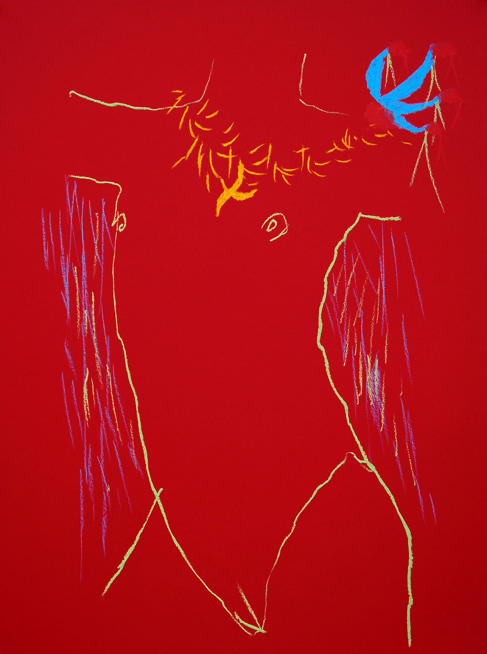 Extreme Red Torses I, 2013