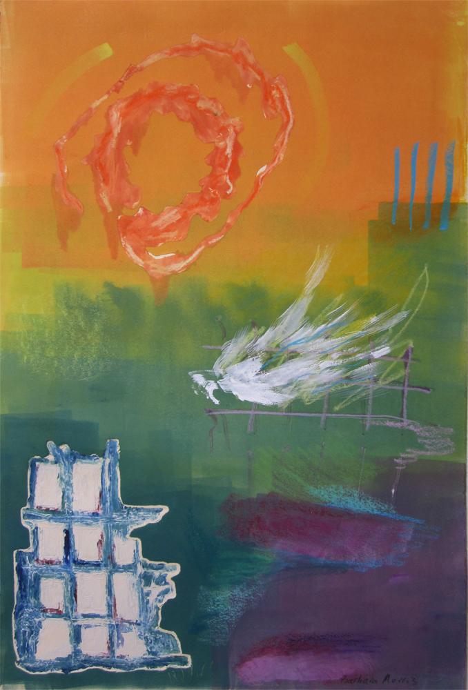 """Icarus I22"""" x 15""""monotype2009"""