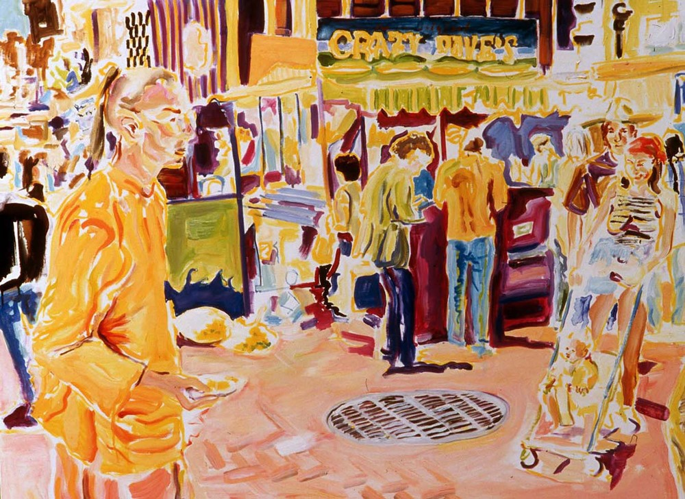 "Crazy Dave's, oil on canvas, 30"" x 40"", 2005"