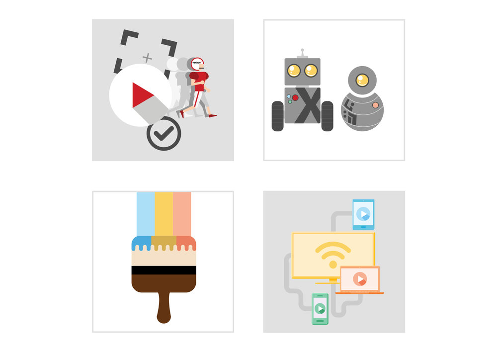 A set of illustrations used in various blog posts ( Click to enlarge )