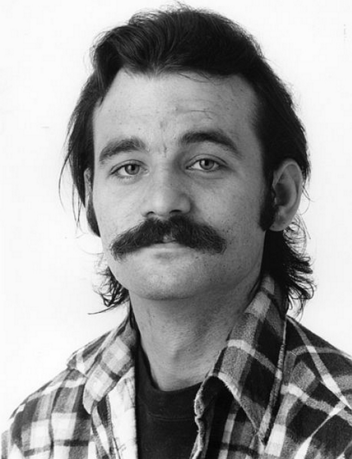In case you were wondering how Bill Murray fit into this grouping of 'man-candy', look no further. This is the same picture we have above our couch.