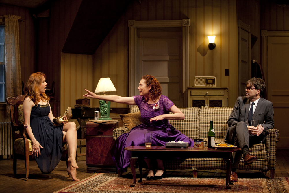 Caroline in Jersey 2009; Lea Thompson, Brenda Wehle, Matt McGrath; Dir. Amanda Charlton; Photo T. Charles Erickson.jpg
