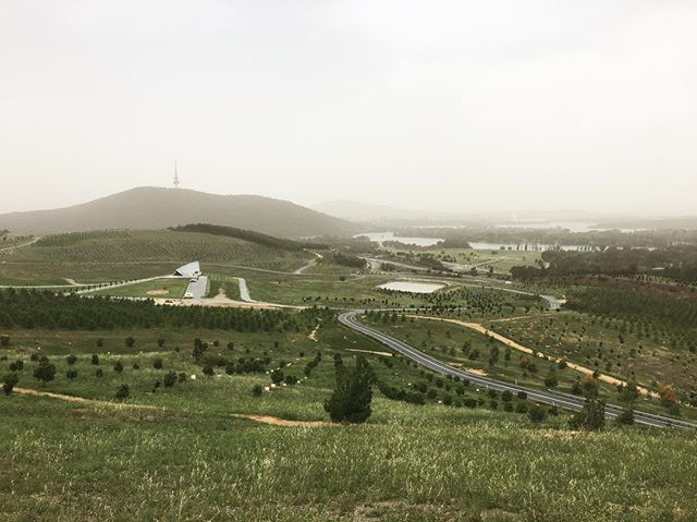 1000s of tree species, native and from around the world at the Canberra Arboretum
