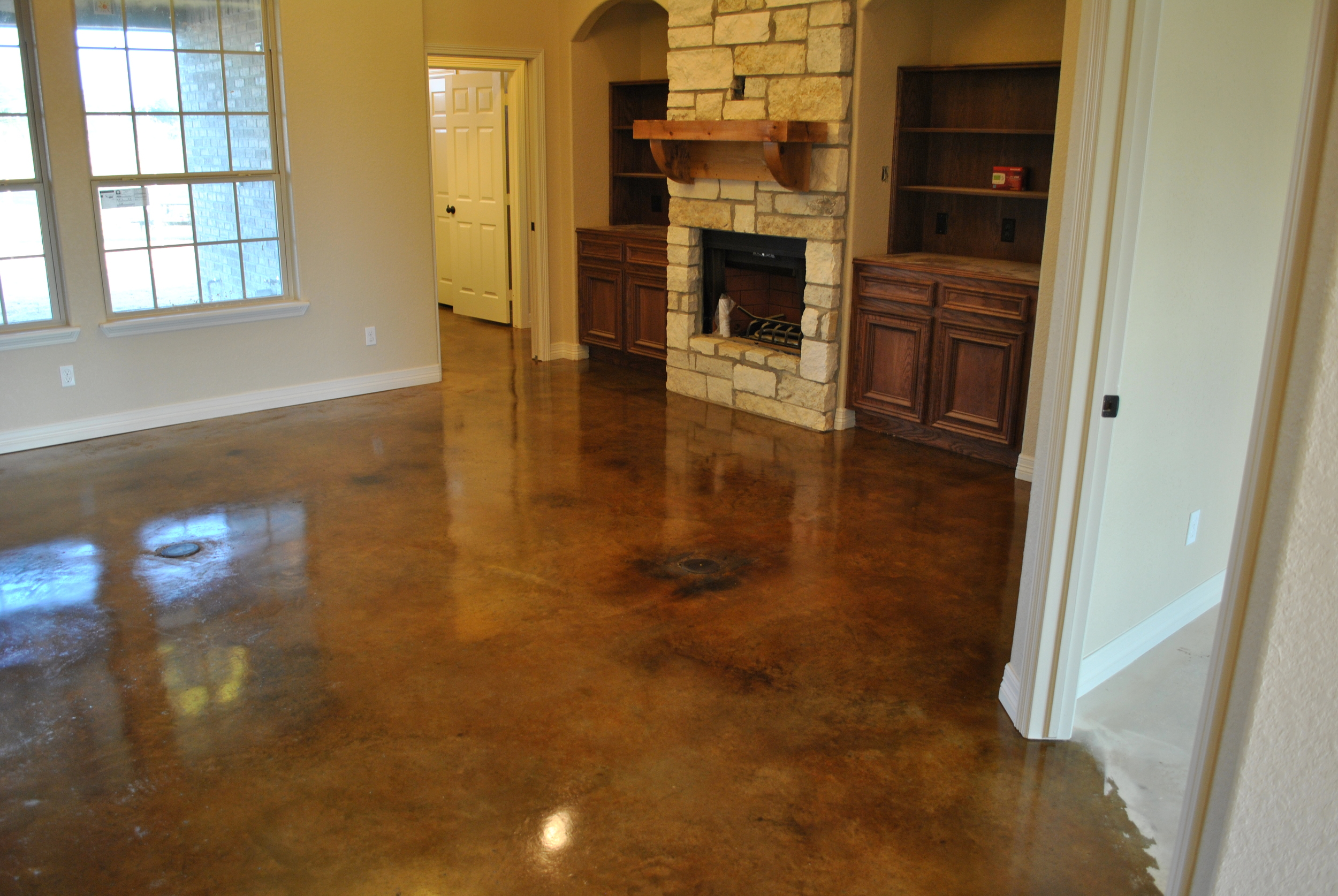 floor floors john how diy to stain decor robinson concrete