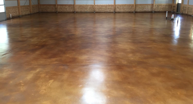 Interior stained concrete floor gallery glossy floors for 100 floors floor 26