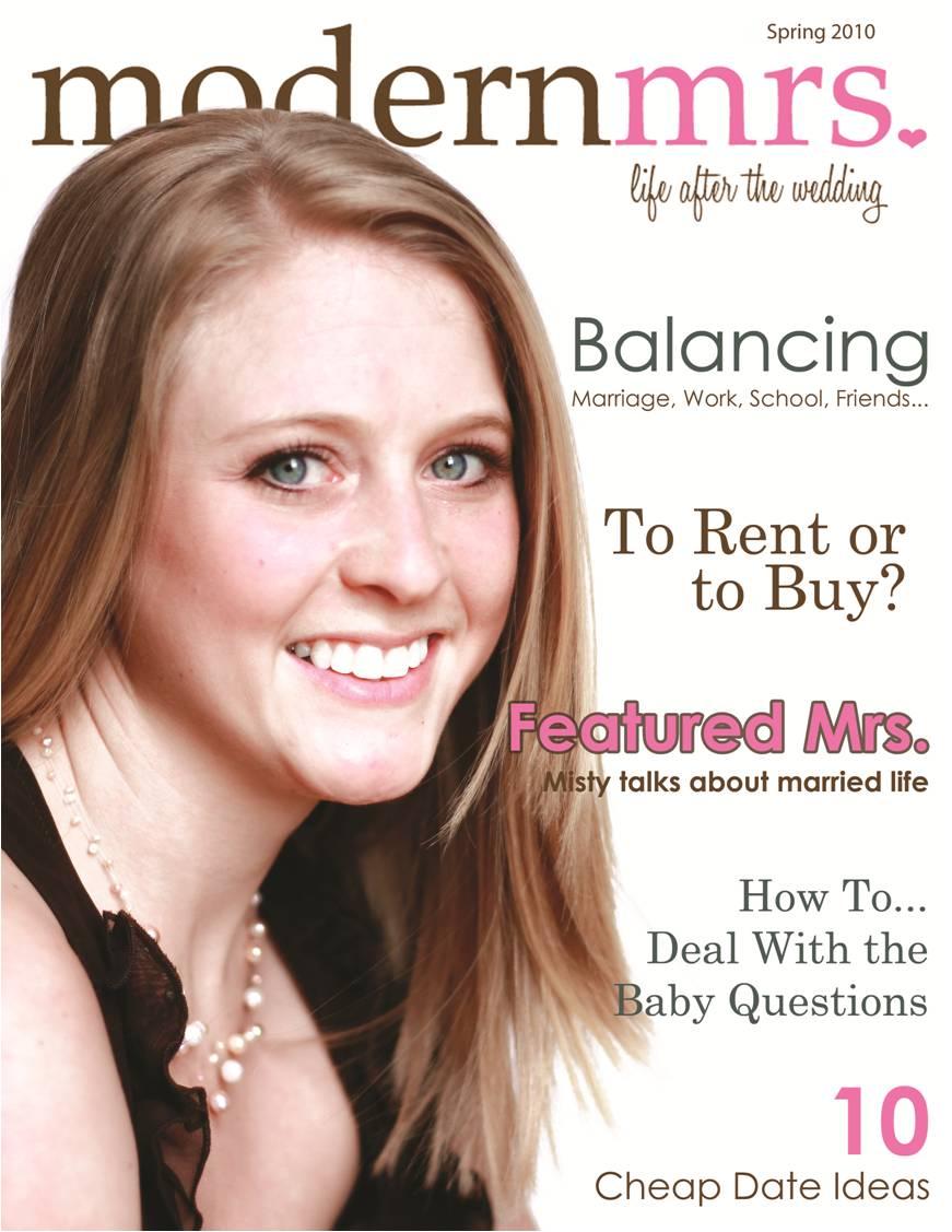 Senior Project: ModernMrs Magazine  View PDF