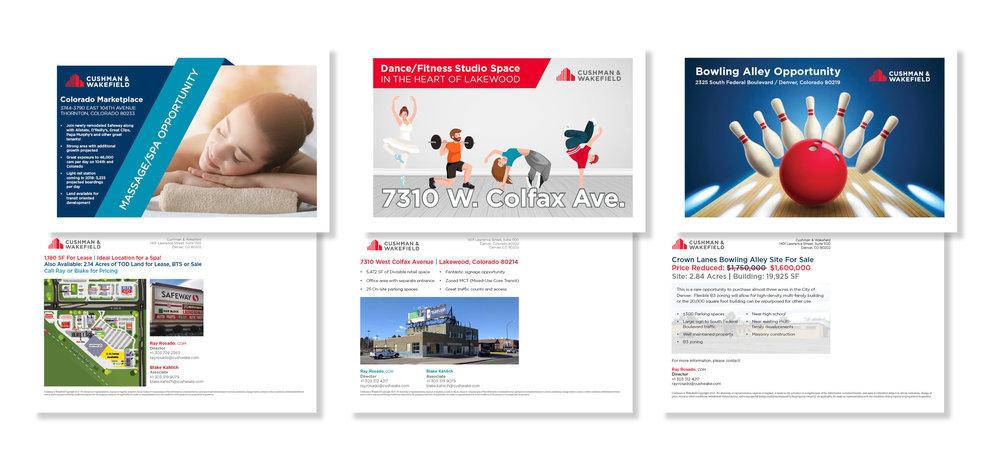 Property Marketing Postcards