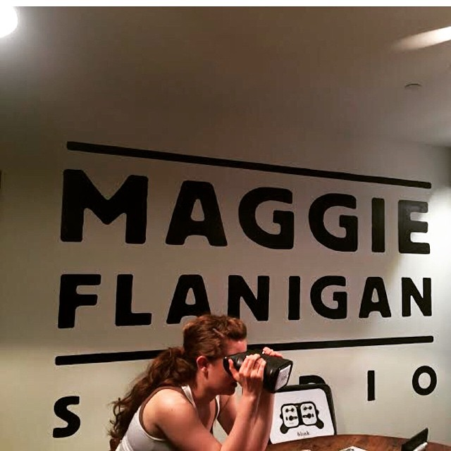Don't waste an entire day getting a new prescription for glasses. Let Blink we come to you! Yesterday, we performed a vision test at Maggie Flanigan Studios! In just 20-minutes our customer was back to work!