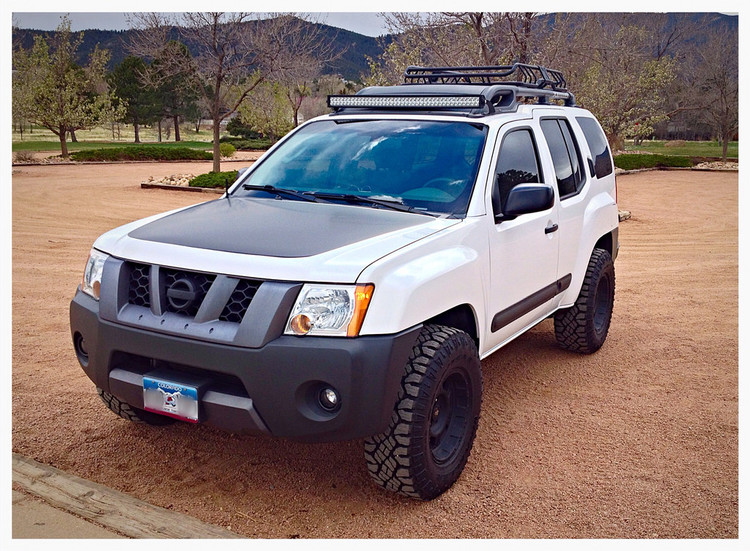 Light bar roof mount xterra 05 15 offroadgorilla light bar roof mount xterra 05 15 aloadofball Choice Image