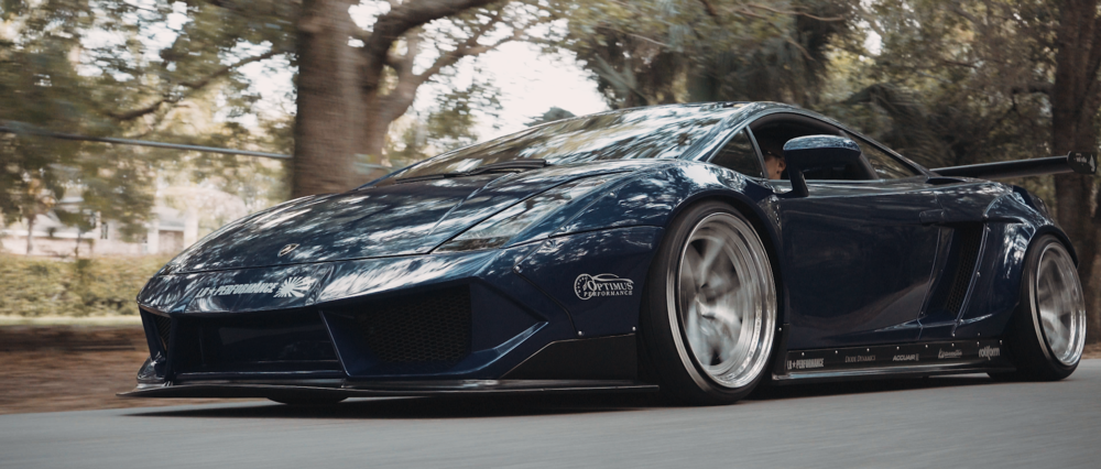 Liberty Walk Gallardo: Optimus Performance | Client: AccuAir Suspension