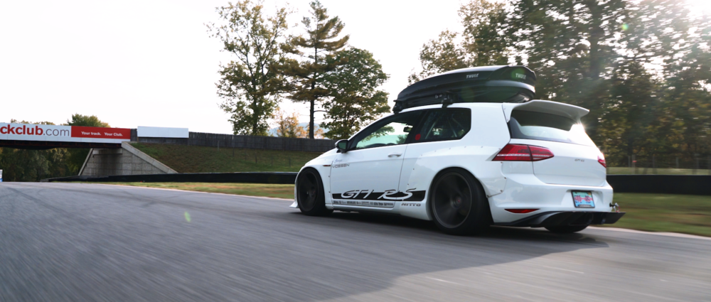 Rocket Bunny MK7 GTI RS | Client: Vossen Wheels