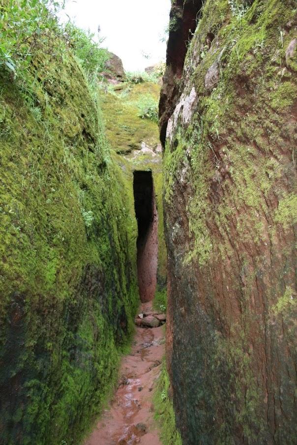 The Tunnel of Faith, Lalibela, Ethiopia