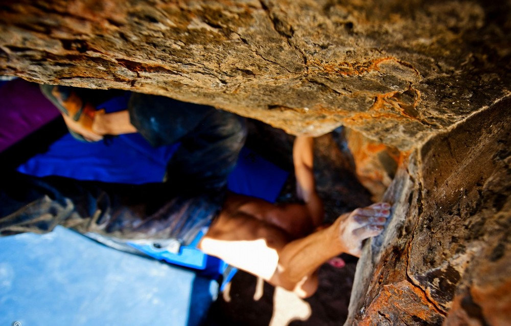 Matt setting up for the notorious undercling match. PC: Kevin Ford