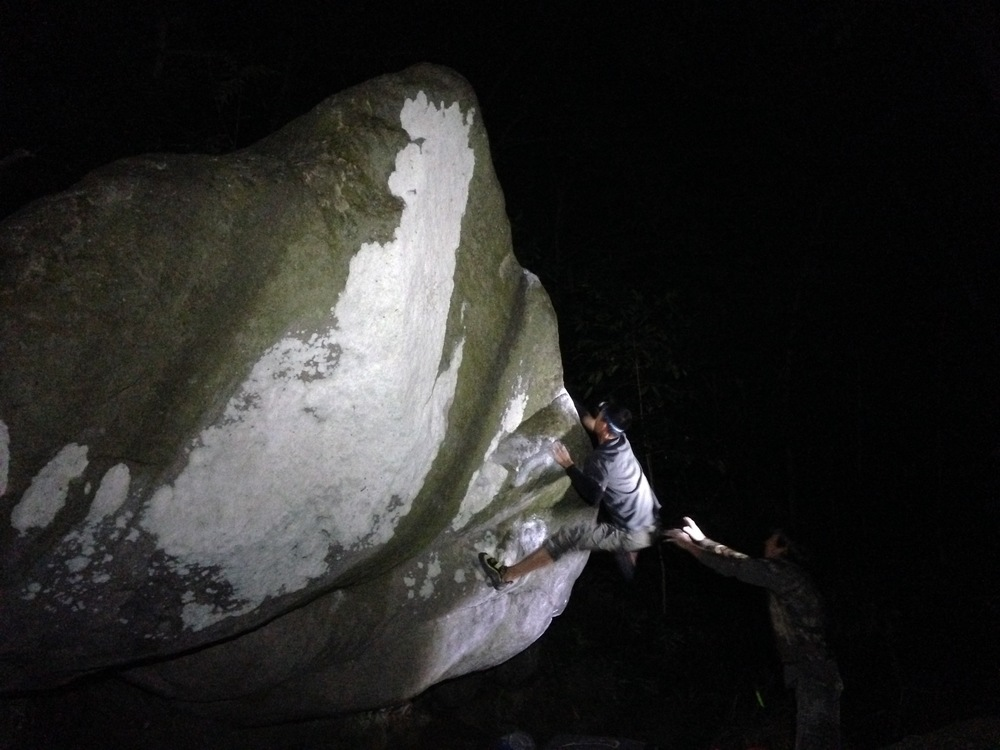 Duc Ong working Mothman (V8). PC: Matt Lutey