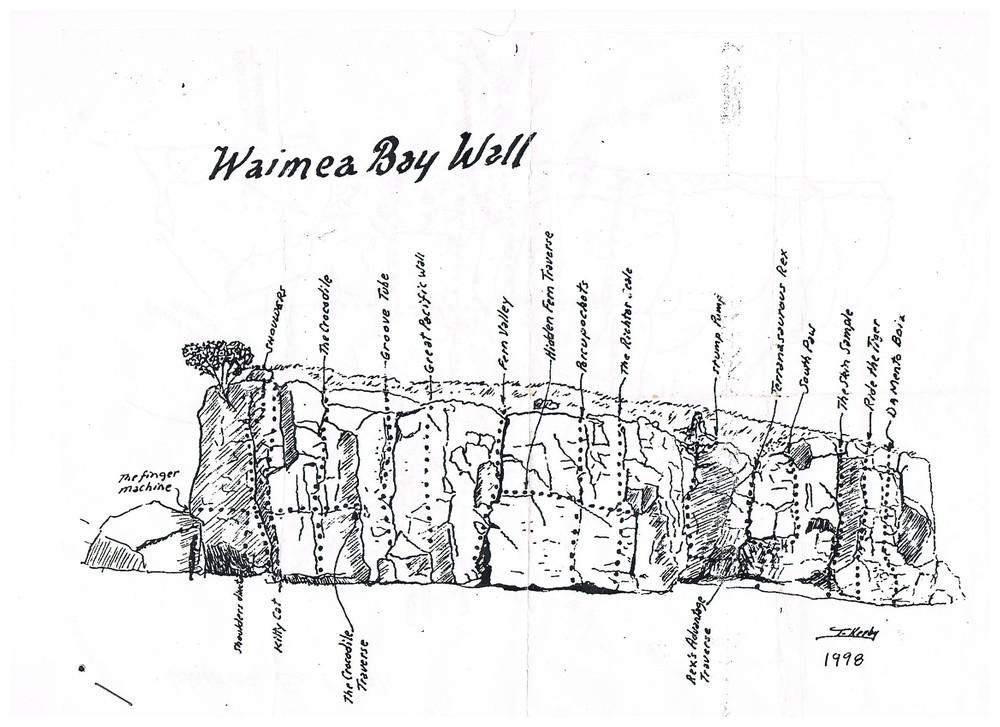 Terry Kerby's Waimea Topo, 1998