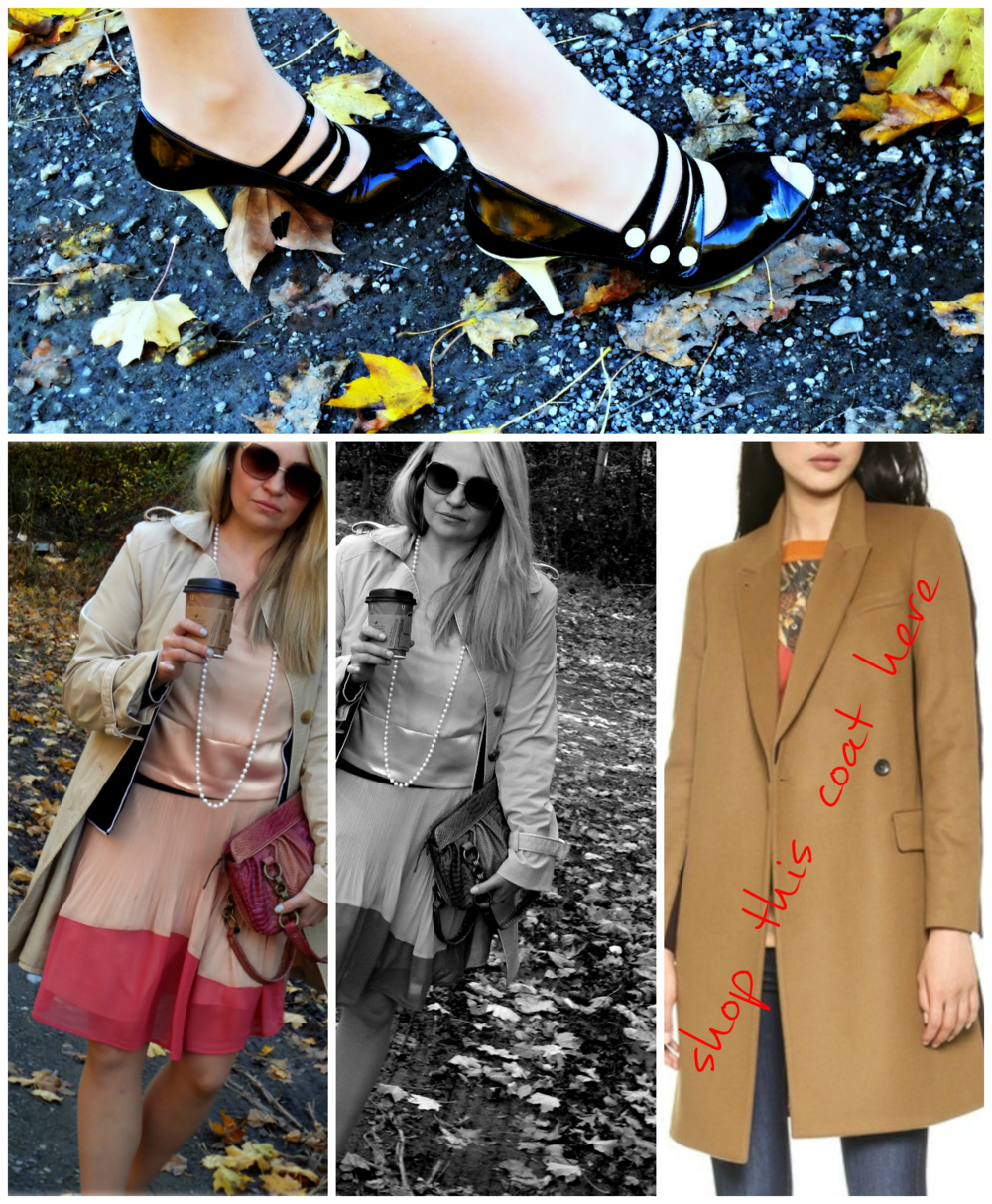 As an alternative I found this super playful Paul Smith color block coat. You can see and shop it  here .