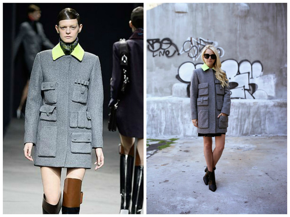 Alexander Wang FW2014 source: style.com         source: Atlantic Pacific