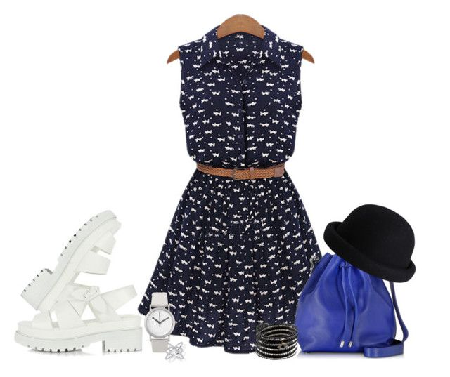 Abaday Dress, Bel Air Sandals, Proenza Schouler Bag, Normal Timepieces Watch, Chan Luu Bracelet, Hugau Ring, Pieces Hat