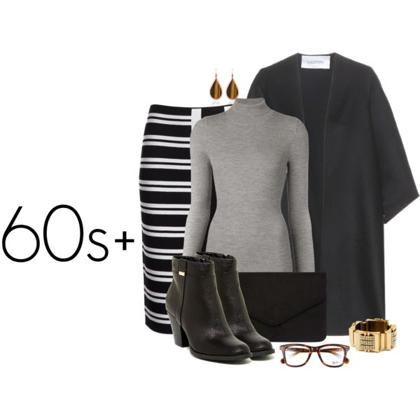 SWEATER: BARBARA BUI, CAPE: VALENTINO, SKIRT: THEORY, BOOTIES: BANDOLINO EVORA, CLUTCH: DOROTHY PERKINS, BRACELET: NANCY GONZALEZ, EARRINGS: EDDIE BORGO,