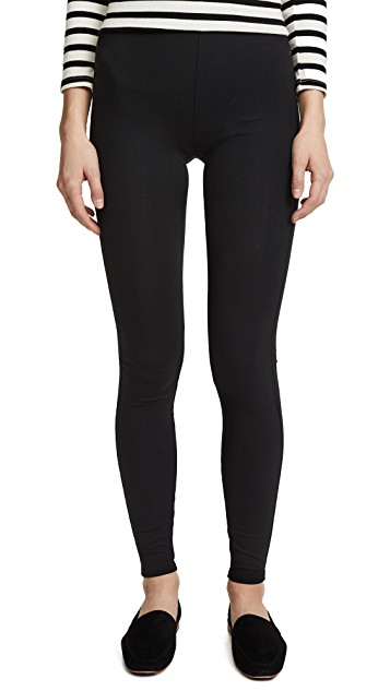 Madewell     High Rise Ankle Legging   When you are on the run and in the groove, the high rise leggings fit all your fall needs.