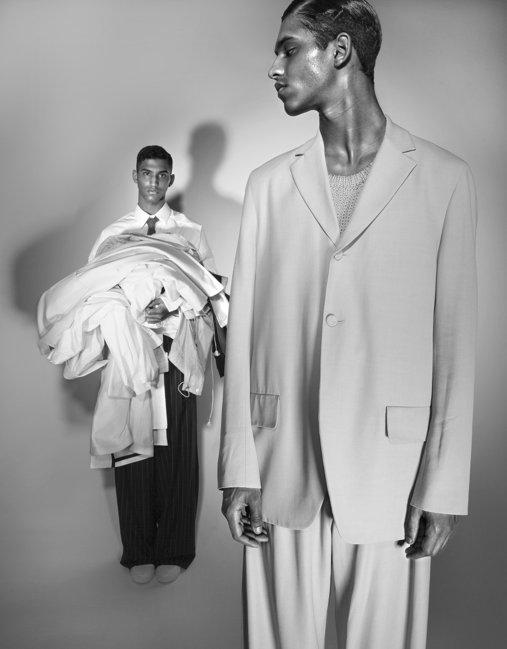 Hector and Jan Carlos Diaz by Anthony Goicolea for L'Officiel USA
