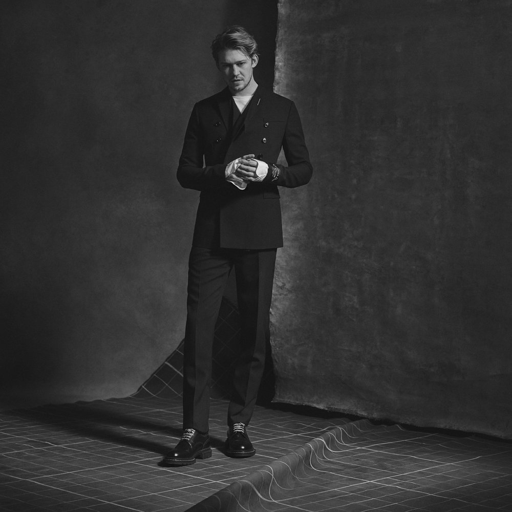 Joe Alwyn by Blair Getz Mezibov for L'Officiel USA