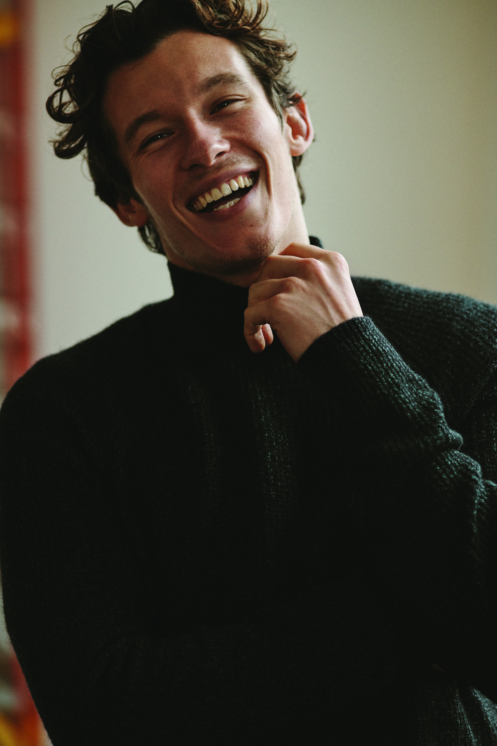 Callum Turner by Blair Getz Mezibov for L'Officiel USA